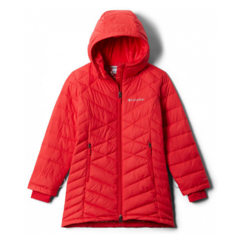 Columbia G HEAVENLY LONG JACKET red - Girls' jacket