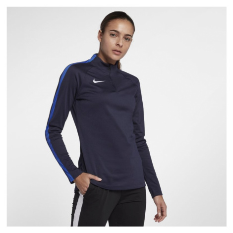 Nike Dri-FIT Academy Drill Women's Long-Sleeve Football Top - Blue