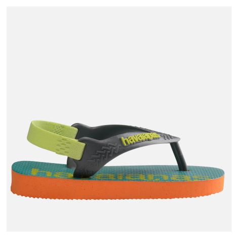Havaianas Toddlers' Logomania Flip Flops - Begonia Orange