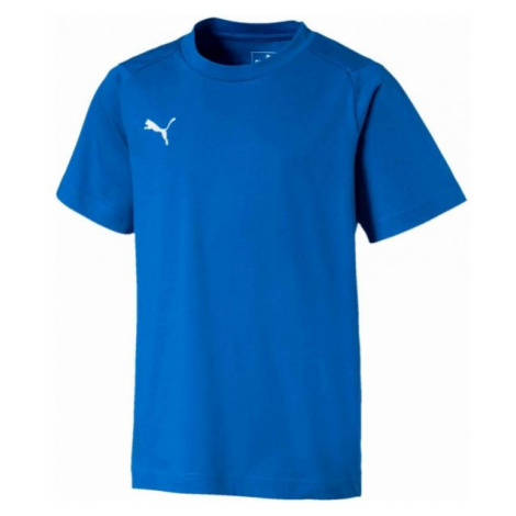 Puma LIGA CASUALS TEE JR blue - Boys' T-shirt