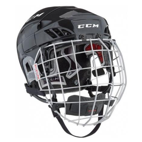 CCM FL60C SR COMBO black - Hockey helmet