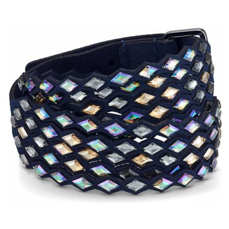 Swarovski Power Crystal Navy Blue Bracelet