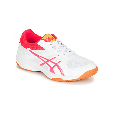 Asics 1074A005-104 girls's Children's Indoor Sports Trainers (Shoes) in White