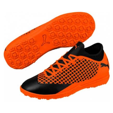 Puma FUTURE 2.4 TT JR black - Boys' football boots
