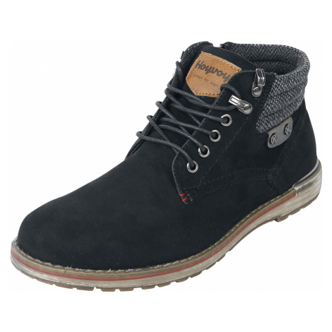 Hoyvoy - Suede Boot - Boots - black