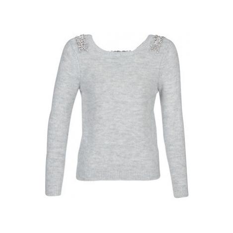Naf Naf MBIJOUX women's Sweater in Grey