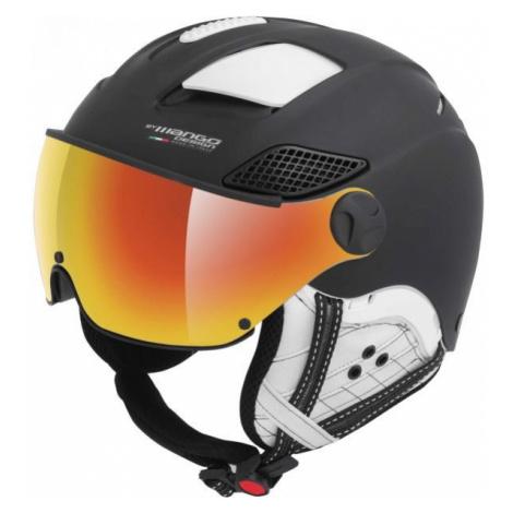 Mango MONTANA PRO+ black - Unisex ski helmet with a visor