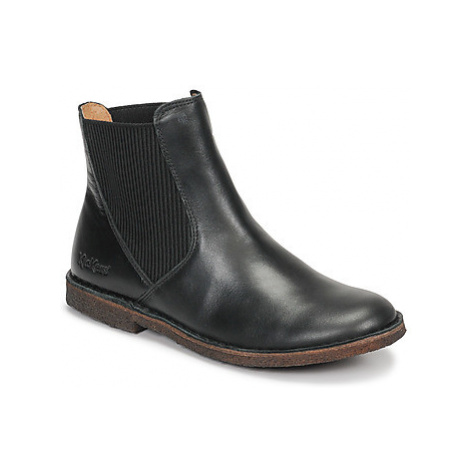 Kickers TINTO women's Mid Boots in Black