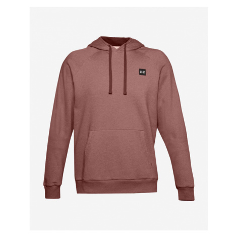Under Armour Rival Fleece Sweatshirt Red Brown