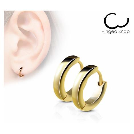 earrings Body Art SE2002 - GD/Classic Plain Dome/Gold