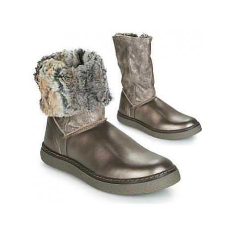 GBB DUBROVNIK girls's Children's High Boots in Gold