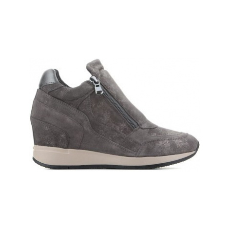 Geox D Nydame D620QA 07722 C9002 women's Shoes (High-top Trainers) in Grey