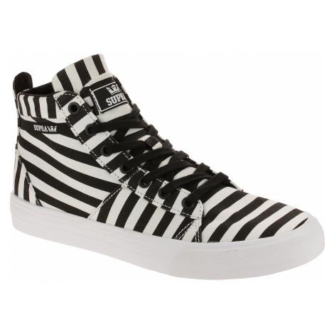 shoes Supra Stacks Mid - Black/White Stripe
