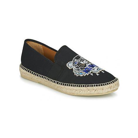 Kenzo ESPADRILLE ELASTIQUE TIGER HEAD men's Espadrilles / Casual Shoes in Black