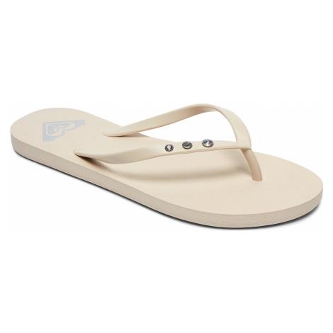 flip flops Roxy Viva Glitz II - CRE/Cream