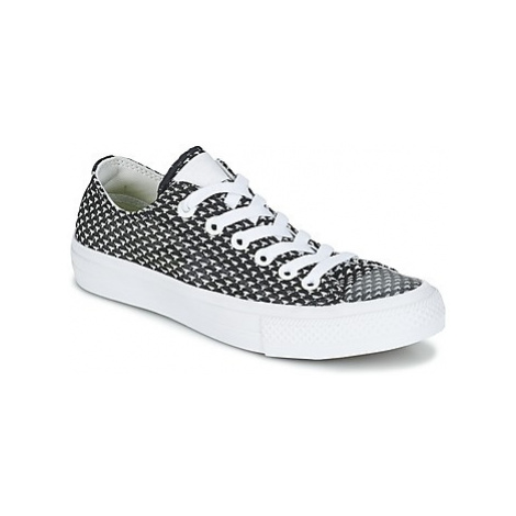 Converse CHUCK TAYLOR ALL STAR II FESTIVAL TPU KNIT OX women's Shoes (Trainers) in Black