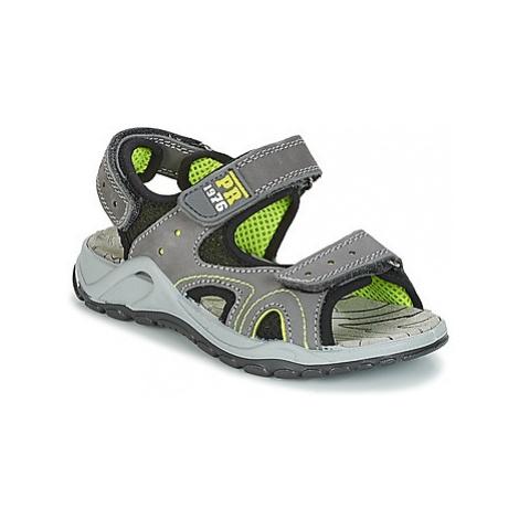 Primigi RAPAGROU boys's Children's Sandals in Grey