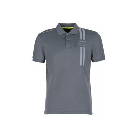 Hackett BRAVOULE men's Polo shirt in Grey