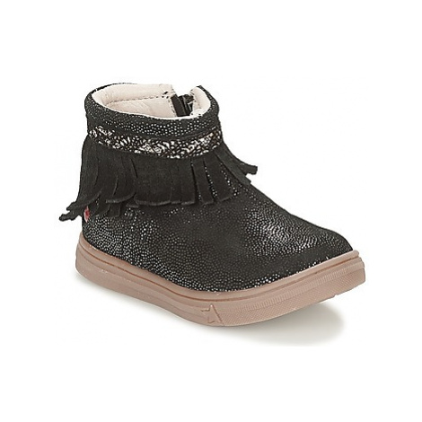 GBB NEFFLE girls's Children's Mid Boots in Black