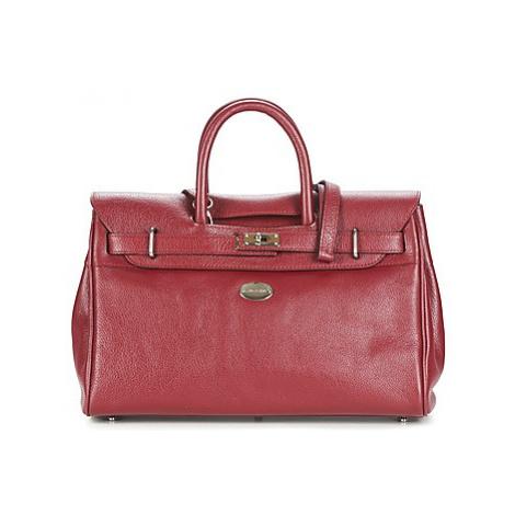 Mac Douglas BUFFLE NICKEL PYLA S women's Handbags in Red