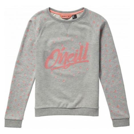 O'Neill LG MOUNTAN CHASE SWEATSHIRT grey - Girls' sweatshirt