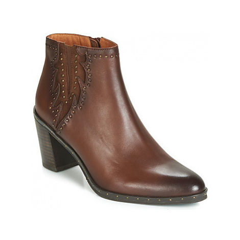 Mam'Zelle NULOMA women's Low Ankle Boots in Brown