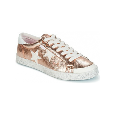 Superdry SUPER SLEEK LOGO LO women's Shoes (Trainers) in Pink