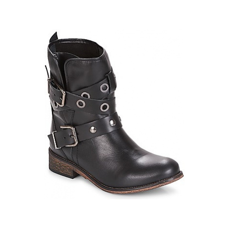 Musse Cloud ADRIANA women's Mid Boots in Black Musse & Cloud