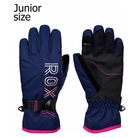 glove Roxy Freshfield - BTE0/Medieval Blue - girl´s