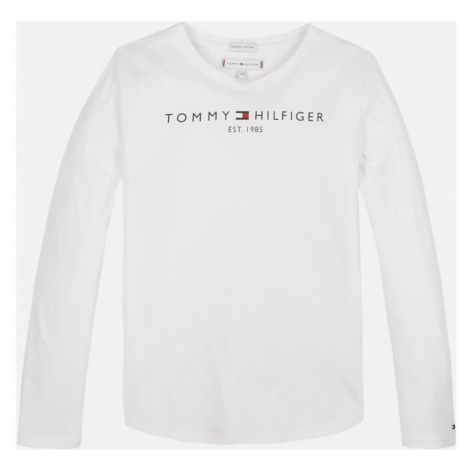 Tommy Hilfiger Girls' Essential Long Sleeve T-Shirt - White