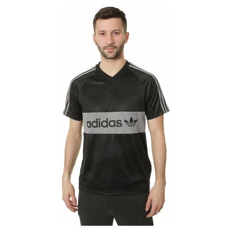 T-Shirt adidas Originals Jersey Word Camo - Black/Utility Gray/Gray