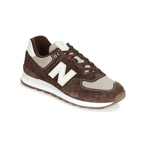 New Balance 574 men's Shoes (Trainers) in Brown