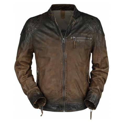 Gipsy - Arne Slim Fit Lamov - Leather jacket - dark brown