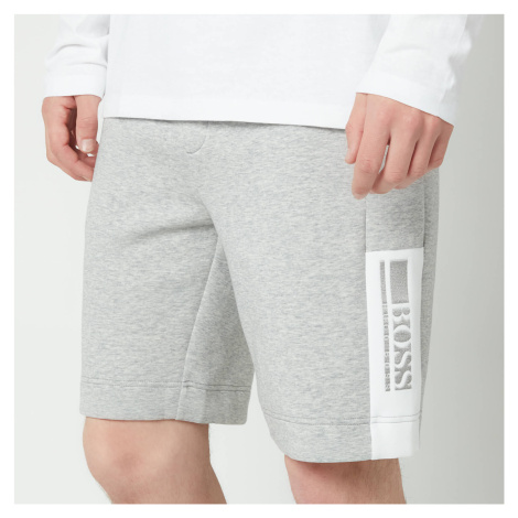 BOSS Athleisure Men's Hedlo 1 Jersey Shorts - Light Pastel Grey Hugo Boss