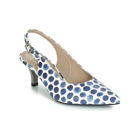 Dorking 7814 women's Court Shoes in Blue