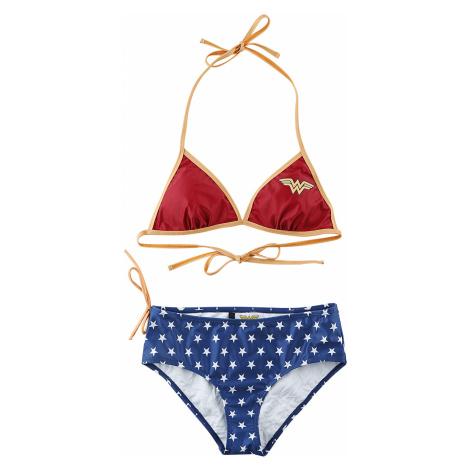 Wonder Woman - Stars - Bikini - red-blue