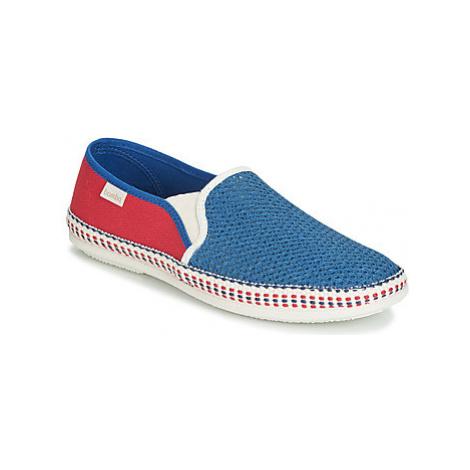 Bamba By Victoria ANDRE ELASTICOS REJILLA/ESPI men's Espadrilles / Casual Shoes in Blue