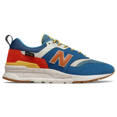 New Balance 997H Shoes - Blue/Varsity Orange