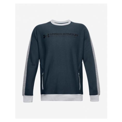 Under Armour Rival Fleece AMP Crew Sweatshirt Blue