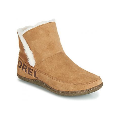 Sorel NAKISKA BOOTIE women's Slippers in Brown