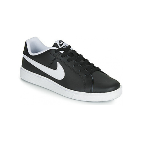 Nike COURT ROYALE men's Shoes (Trainers) in Black