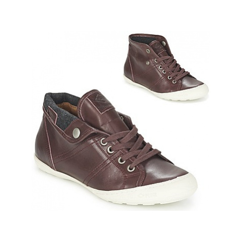 PLDM by Palladium GAETANE IBX women's Shoes (High-top Trainers) in Bordeaux