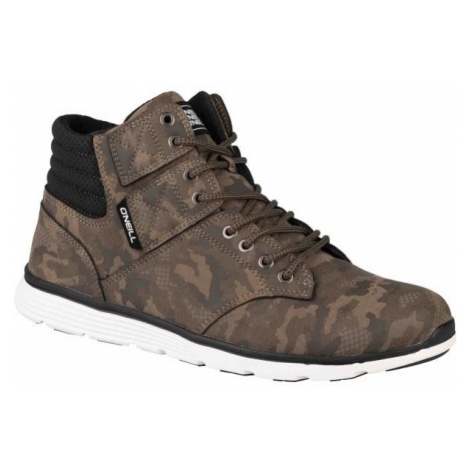 O'Neill RAILER LT CAMO brown - Men's ankle sneakers