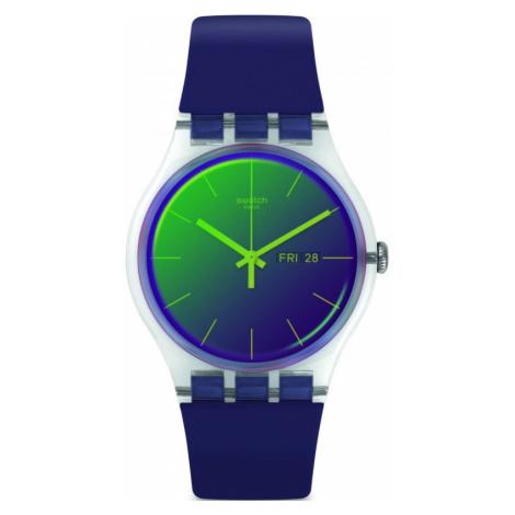 Swatch Polapurple Watch