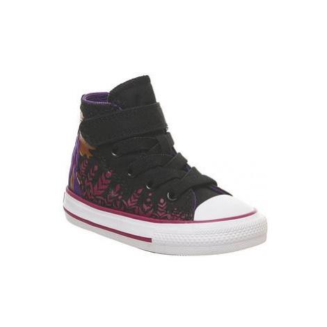 Converse All Star Hi 1vlace BLACK CHERRY ANNA FROZEN