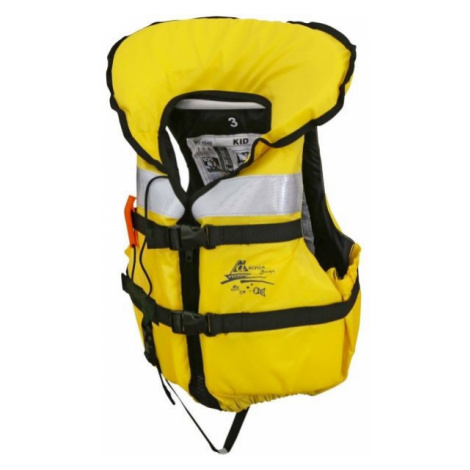 AQUADESIGN Y VEST KID yellow - Kids' life jacket