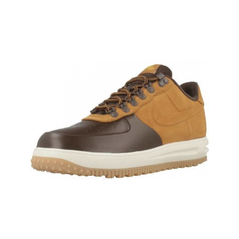Nike LF1 DUCKBOOT LOW men's Shoes (Trainers) in Brown