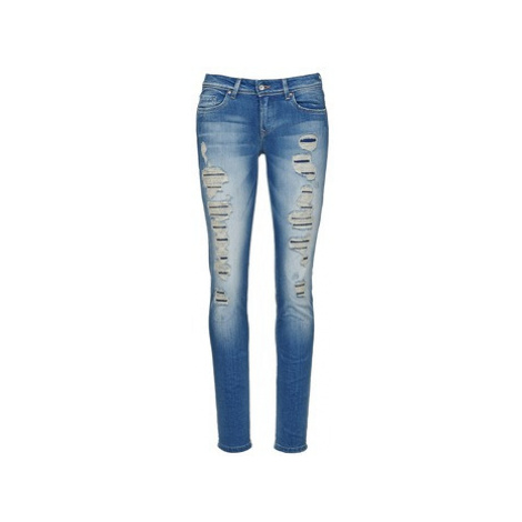 Salsa SHAPE UP women's Skinny Jeans in Blue