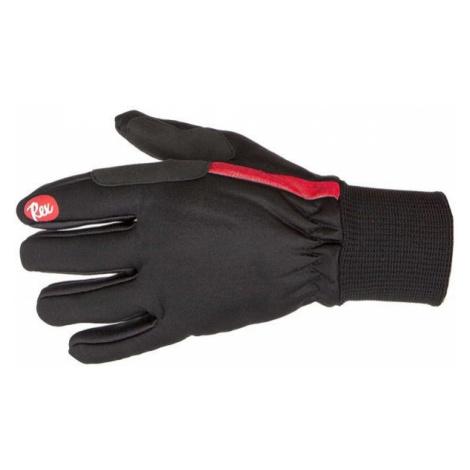 REX MARKA SOFTSHELL black - Nordic ski gloves