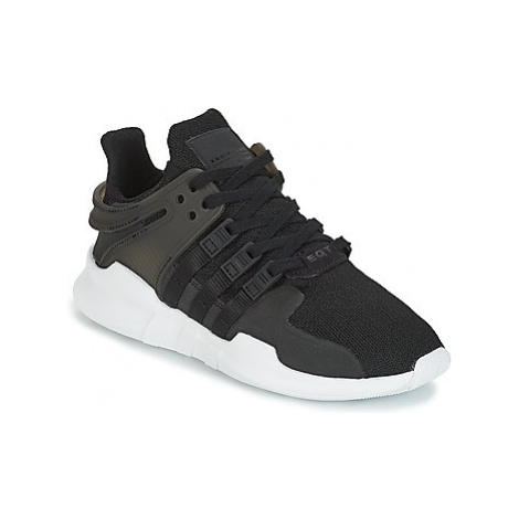 Adidas EQT SUPPORT ADV J girls's Children's Shoes (Trainers) in Black